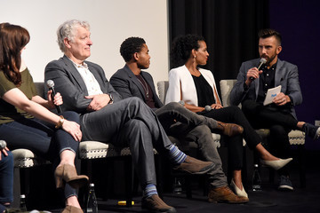 Robert Bailey Jr. Clancy Brown Premiere Of ABC's 'Emergence' With PEOPLE