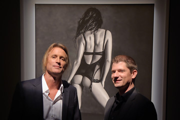 "Robert Campbell Victoria's Secret Hosts Russell James' ""Angel"" Book Launch"