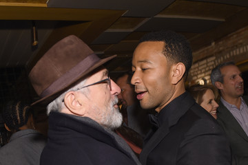 """Robert De Niro John Legend Celebrates His Birthday And The 10th Anniversary Of His Debut Album """"Get Lifted"""" At CATCH NYC"""