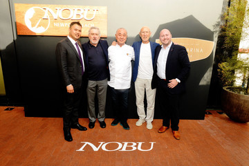 Robert De Niro Nobu Newport Beach Sake Ceremony At Lido Marina Village
