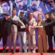 """Robert Downey Jr. Marvel Studios' """"Avengers: Endgame"""" Stars Place Handprints In Cement At TCL Chinese Theatre"""