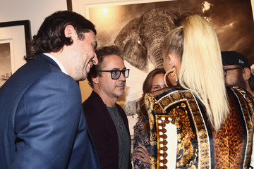Robert Downey Jr. Grand Opening Maddox Gallery Los Angeles