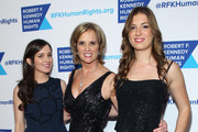 Michaela Kennedy Cuomo and Kerry Kennedy attend as Robert F. Kennedy Human Rights hosts The 2015 Ripple Of Hope Awards honoring Congressman John Lewis, Apple CEO Tim Cook, Evercore Co-founder Roger Altman, and UNESCO Ambassador Marianna Vardinoyannis at New York Hilton on December 8, 2015 in New York City.