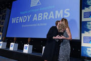 President, Robert F. Kennedy Human Rights Kerry Kennedy presents an award to Wendy Abrams on stage during the Robert F. Kennedy Human Rights Hosts 2019 Ripple Of Hope Gala & Auction In NYC on December 12, 2019 in New York City.