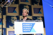 President, Robert F. Kennedy Human Rights Kerry Kennedy speaks onstage during the Robert F. Kennedy Human Rights Hosts 2019 Ripple Of Hope Gala & Auction In NYC on December 12, 2019 in New York City.