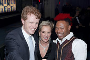 Joe Kennedy III, President, Robert F. Kennedy Human Rights Kerry Kennedy, and Darius Baxter attend the Robert F. Kennedy Human Rights Hosts 2019 Ripple Of Hope Gala & Auction In NYC on December 12, 2019 in New York City.