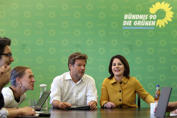 Robert Habeck Political Parties React To Bavarian State Elections Results