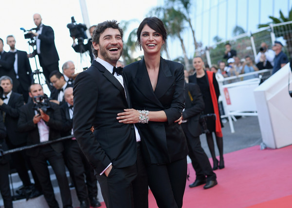 'Ash Is The Purest White (Jiang Hu Er Nv)' Red Carpet Arrivals - The 71st Annual Cannes Film Festival [ash is the purest white,red carpet,carpet,event,premiere,flooring,suit,white-collar worker,formal wear,tuxedo,smile,catrinel marlon,robert konjic,screening,cannes,france,red carpet arrivals,jiang hu er nv,cannes film festival,palais des festivals]