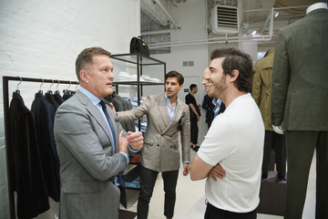 Robert Konjic dunhill London Collection Preview Cocktail