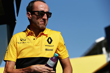 Robert Kubica F1 In-Season Testing In Budapest - Day One