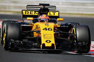 Robert Kubica F1 In-Season Testing In Budapest - Day Two