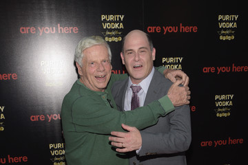 Robert Morse Matthew Weiner 'Are You Here' Premieres in Hollywood