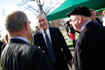 Robert Mueller Service At Arlington Cemetery Commemorates 25th Anniversary Of Pan Am 103 Bombing