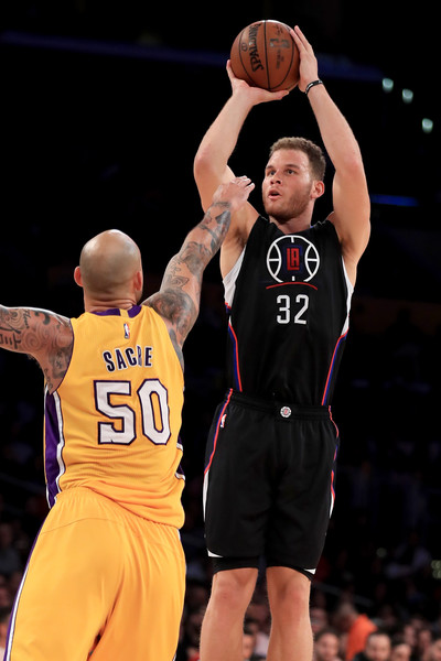 17f5b9d2c Robert Sacre Photos Photos - Los Angeles Clippers v Los Angeles ...