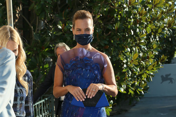 Roberta Armani Celebrity Sightings During The 77th Venice Film Festival - Day 1