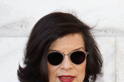 Bianca Jagger attends the Roberto Cavalli Autumn/Winter 2012/2013 fashion show as part of Milan Womenswear Fashion Week on February 27, 2012 in Milan, Italy.