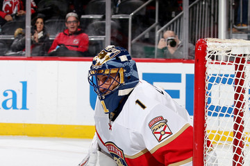 Roberto Luongo Florida Panthers v New Jersey Devils