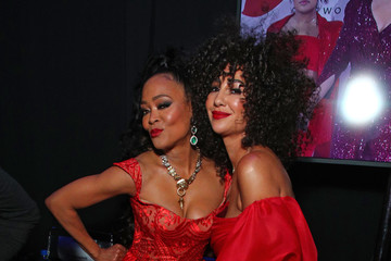 Robin Givens The American Heart Association's Go Red For Women Red Dress Collection 2020 - Backstage