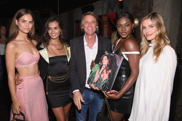 Robin Holzken Russell James And Ed Razek Host U.S. Book Launch Of 'Backstage Secrets By Russell James'