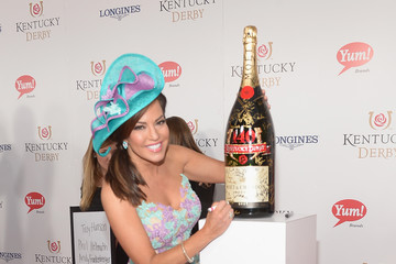 Robin Meade Moet & Chandon Toasts The 140th Kentucky Derby