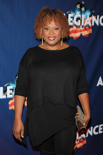 'Allegiance' Broadway Opening Night - Arrivals & Curtain Call [premiere,carpet,event,electric blue,flooring,red carpet,performance,robin quivers,allegiance,curtain call,red carpet,new york city,the longacre theatre,broadway,opening night - arrivals]
