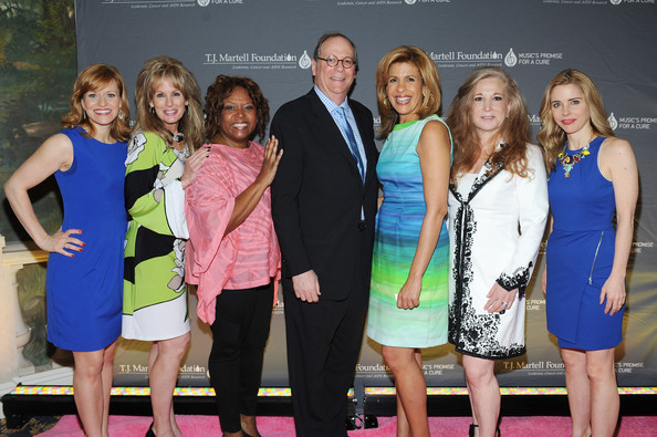 Arrivals at the Women of Influence Awards [event,yellow,fashion,premiere,dress,competition,carpet,award,leisure,flooring,arrivals,hoda kotb,charlie feldman,megan sikora,robin quivers,laura heatherly,kerry butler,l-r,t.j.,martell foundations women of influence awards]