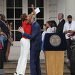 Robin Roberts The US Women's National Soccer Team Victory Parade And City Hall Ceremony