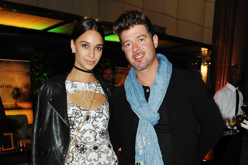 Robin Thicke National Geographic 'Before The Flood' Screening