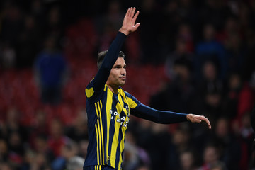 Robin Van Persie Manchester United FC v Fenerbahce SK - UEFA Europa League