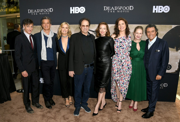 LA Premiere Of HBO's 'Deadwood' - Red Carpet