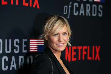 Robin Wright Los Angeles Premiere Screening Of Netflix's 'House Of Cards' Season 6 - Arrivals