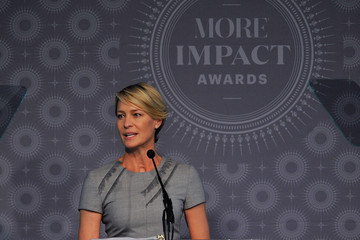 Robin Wright 2015 MORE Impact Awards Luncheon