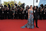 """Alessandro Michele and Charlotte Casiraghi attend the Premiere of """"Rocco And His Brothers"""" during the 68th annual Cannes Film Festival on May 17, 2015 in Cannes, France."""