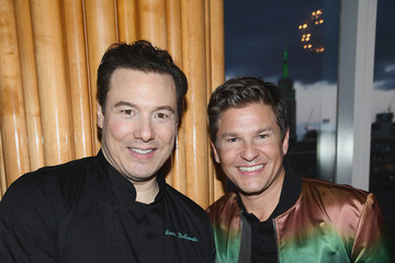 Rocco Dispirito David Burtka Celebrates The Launch Of The Life Is A Party Cookbook In New York City With The Capital One Savor® Credit Card