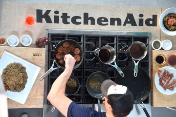 Rocco Dispirito KitchenAid® Culinary Demonstrations - Food Network South Beach Wine & Food Festival