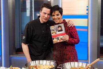 Rocco Dispirito Kris Jenner Visits 'FOX and Friends'