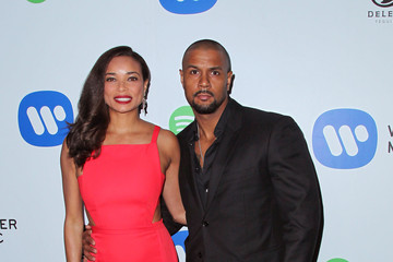 Rochelle Aytes Warner Music Group Grammy Celebration