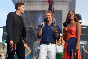 Rochelle Humes F1 Live In London Takes Over Trafalgar Square - Live Show