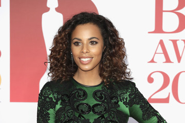 Rochelle Humes The BRIT Awards 2018 - Red Carpet Arrivals