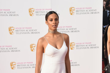 Rochelle Humes House of Fraser British Academy Television Awards 2016 - Red Carpet Arrivals