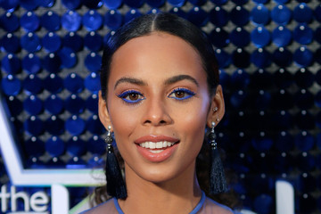 Rochelle Humes The Global Awards 2018 - Red Carpet Arrivals