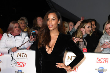 Rochelle Humes National Television Awards 2020 - Red Carpet Arrivals