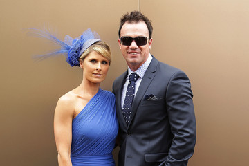Rochelle Ogston Celebrities Attend The Melbourne Cup