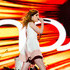 Recording artist Sydney Sierota of music group Echosmith performs onstage during Rock in Rio USA at the MGM Resorts Festival Grounds on May 15, 2015 in Las Vegas, Nevada.