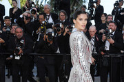 """Sara Sampaio attends the screening of """"Rocket Man"""" during the 72nd annual Cannes Film Festival on May 16, 2019 in Cannes, France."""