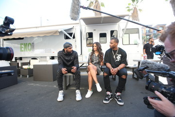 Rocsi Diaz Mtn Dew Kickstart Brings Fan Closer Than Courtside at Courtside Studios During All-Star Weekend