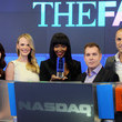 Rod Aissa 'The Face' Cast Visits the NYSE