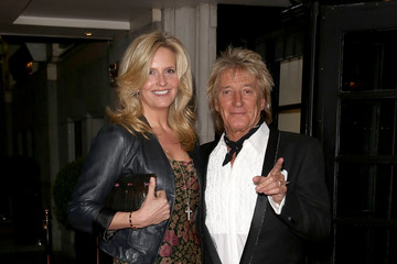 Rod Stewart Arrivals at the Helping Hands Fundraising Dinner