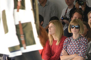 (L-R) Virginia Smith and Anna Wintour attends the Rodarte fashion show during Mercedes-Benz Fashion Week Spring 2015 on September 9, 2014 in New York City.