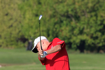 Roger Chapman Sharjah Senior Golf Masters - Day Two